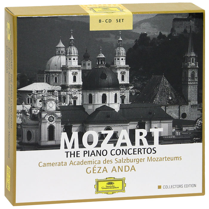 Геза Анда,Camerata Academica Salzburg Geza Anda. Mozart. The Piano Concertos. Collectors Edition (8 CD) salzburg leisure atlas salzburg freizeitatlas