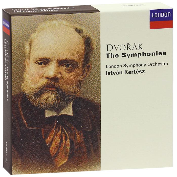 Иштван Кертес,The London Symphony Orchestra Istvan Kertesz. Dvorak. The Symphonies (6 CD) иштван эркень народ лагерей