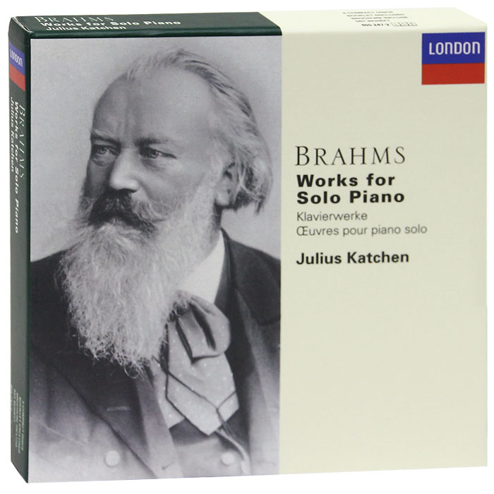 Julius Katchen. Brahms. Works For Solo Piano (6 CD)