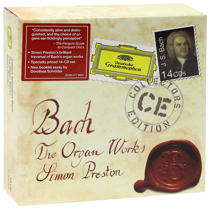 Саймон Престон Simon Preston. Bach. The Organ Works (14 CD) саймон престон hannes laubin bernhard laubin wolfgang laubin norbert schmitt simon preston awake the trumpet s lofty sound
