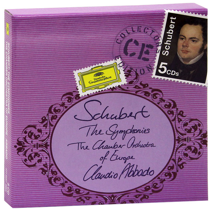 Клаудио Аббадо,The Chamber Orchestra Of Europe Claudio Abbado, The Chamber Orchestra Of Europe. Schubert. The Symphonies (5 CD) рудольф серкин the london symphony orchestra chamber orchestra of the europe клаудио аббадо rudolf serkin mozart piano concertos 7 cd