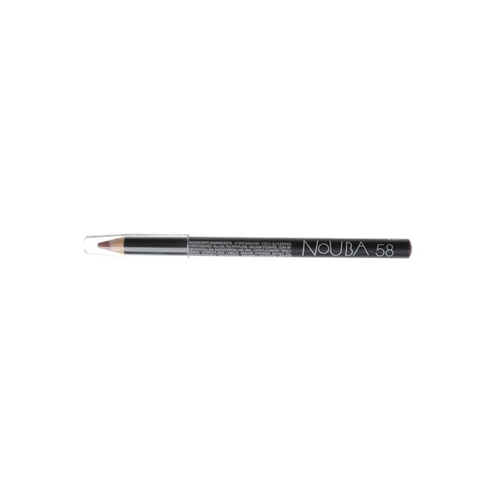 Nouba Карандаш контурный для губ Lip Pencil, тон №58, 1 гN02258Классический карандаш для губ Nouba Lip Pencil создает идеальные линии и четкие контуры. Его волшебные цвета с потрясающе устойчивым эффектом держатся в течение всего дня. Карандаш идеально подходит для чувствительной кожи губ. Пальмовое масло, глицерин- смягчает, увлажняет; Карнаубский, канделийский воски - устойчивость, легкое нанесение. Характеристики:Вес: 1 г. Тон: №58. Производитель: Италия. Артикул: N02258. Товар сертифицирован.