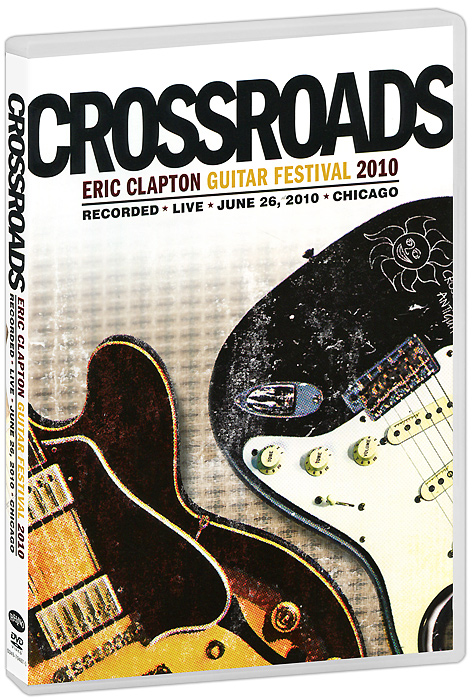 Eric Clapton: Crossroads Guitar Festival 2010 (2 DVD) 24pcs electric guitar fret wire fretwire set 2 2mm