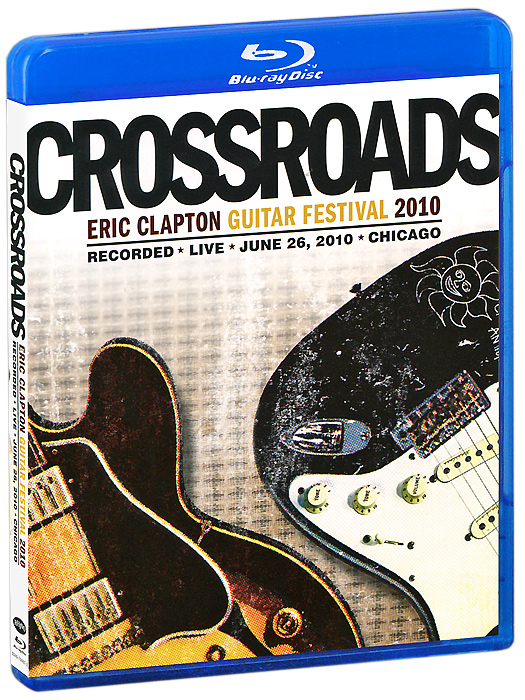 Eric Clapton: Crossroads Guitar Festival 2010 (2 Blu-ray) eric clapton i still do cd