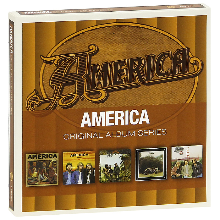 America America. Original Album Series (5 CD) цена