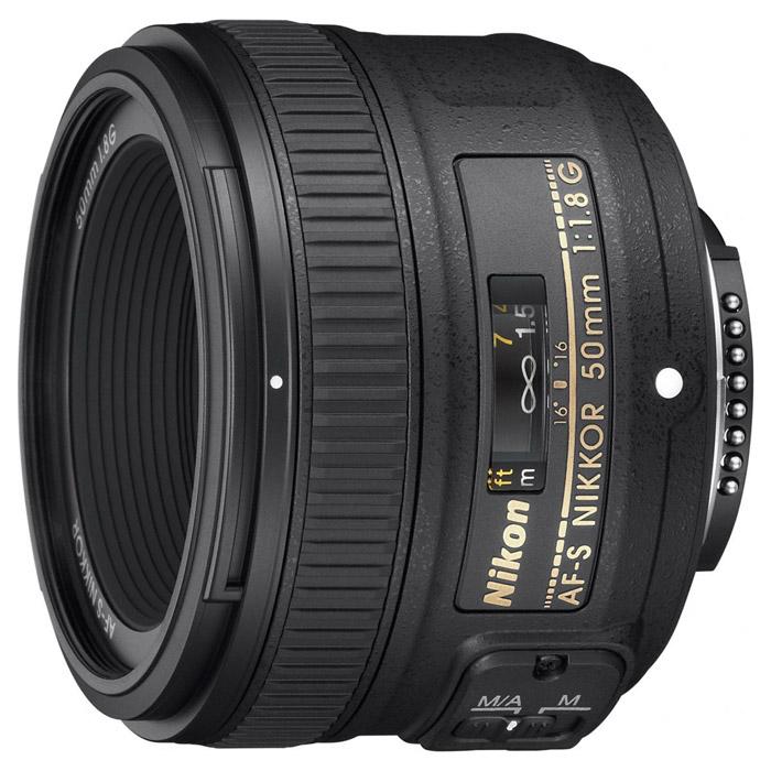 Nikon AF-S Nikkor 50mm f/1.8GJAA015DAИсключительно легкий и компактный стандартный объектив Nikon AF-S Nikkor 50mm f/1.8G. Имеет большую светосилу f/1,8, которая идеально подходит для съемки в условиях недостаточного освещения или при необходимости получения небольшой глубины резко изображаемого пространства и обеспечивает яркое изображение в видоискателе. Переработанная оптическая конструкция содержит асферическую линзу для великолепного качества изображения и эксклюзивный бесшумный ультразвуковой мотор (SWM) Nikon, который обеспечивает тихую работу. Этот объектив с великолепным соотношением цены и качества идеально подойдет фотографам с ограниченным бюджетом.