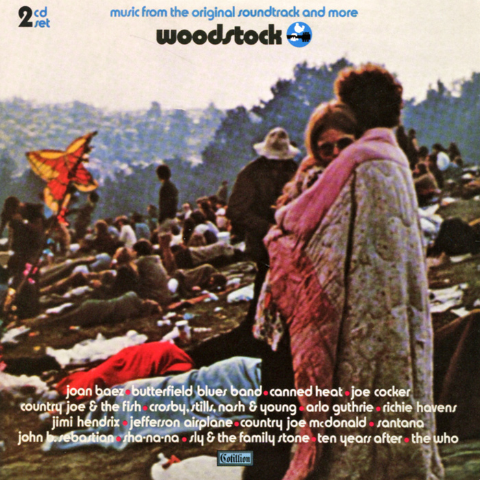 Woodstock. Music From The Original Soundtrack And More (2 CD) confessions of a shopaholic original soundtrack