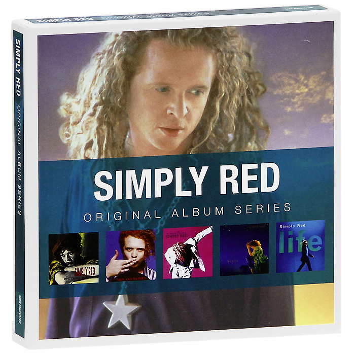 The Simply Red Simply Red. Original Album Series (5 CD) classic erotica simply sexy love gift set подарочный комплект simply sexy