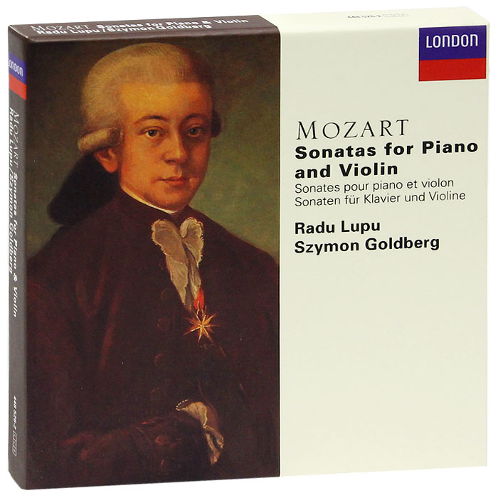 Раду Лупу,Шимон Гольдберг Radu Lupu, Szymon Goldberg. Mozart. Sonatas For Piano And Violin (4 CD)