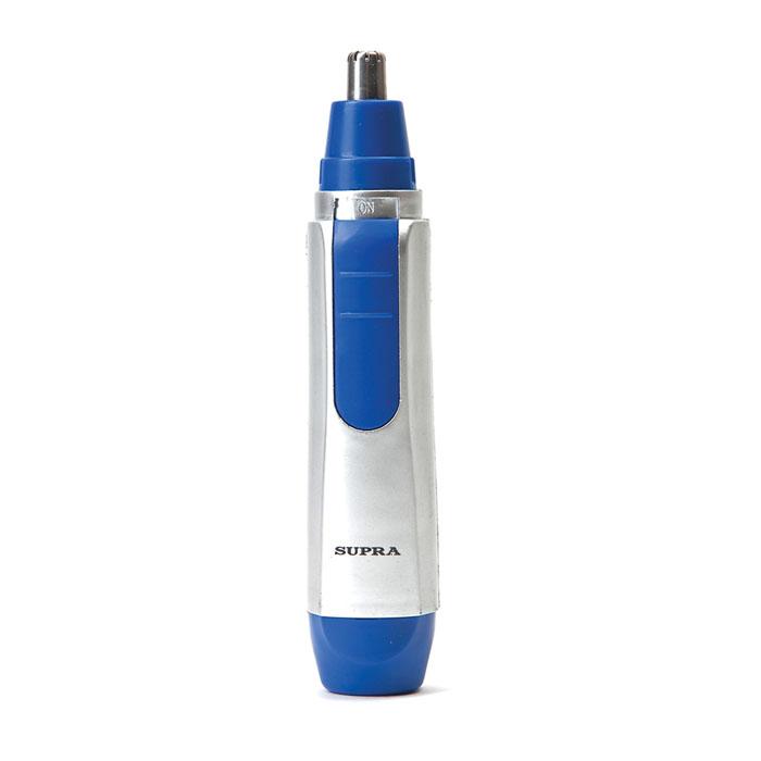 Supra NTS-101, BlueNTS-101 blueТриммер Supra NTS-101 создан для стрижки волос в области носа и ушей. Безопасная система стрижки, поможет не порезаться. К преимуществам данной модели можно отнести лезвия из нержавеющей стали и возможность влажной чистки.