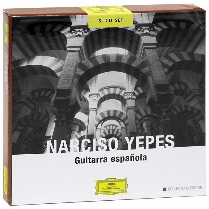 Нарцисо Йепес Narciso Yepes. Guitarra Espanola (5 CD)