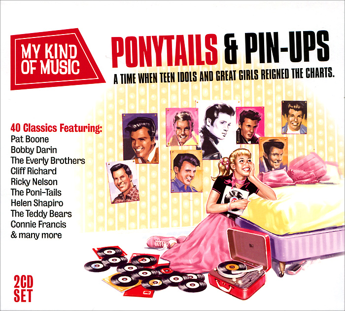 My Kind Of Music. Ponytails & Pinups (2 CD)