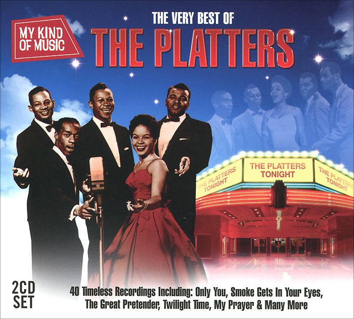 The Platters The Platters. Very Best Of The Platters (2 CD) cd сборник the very best of mozart
