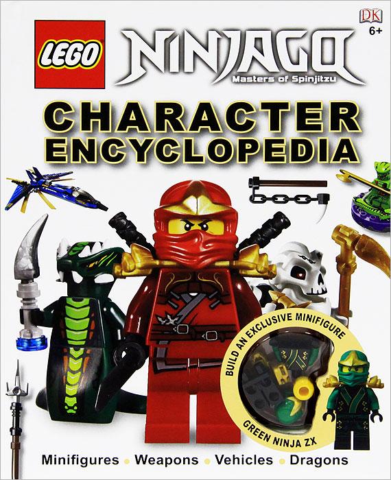 Ninjago: Masters of Spinjitzu: Character Encyclopedia (+ игрушка)