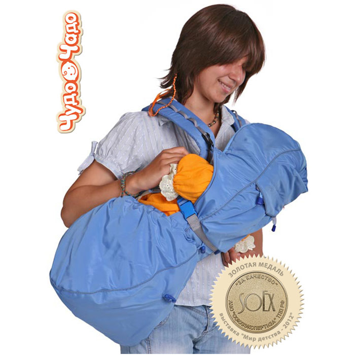 Рюкзак-кенгуру  BabyActive Lux , цвет: голубой -  Рюкзаки, слинги, кенгуру