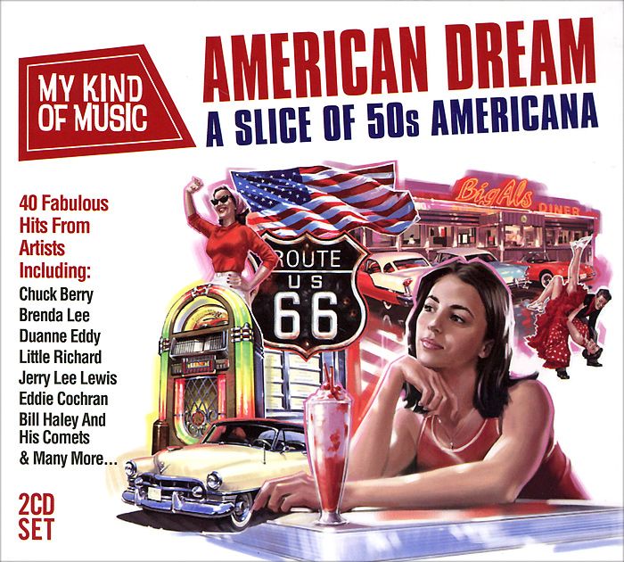 My Kind Of Music. American Dream (2 CD) cd queen a kind of magic 2011 remastered