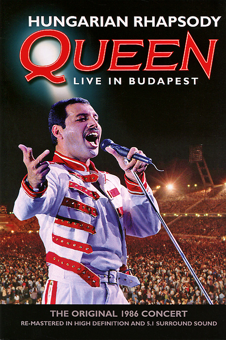 Queen: Hungarian Rhapsody, Live In Budapest queen hungarian rhapsody live in budapest blu ray 2 cd