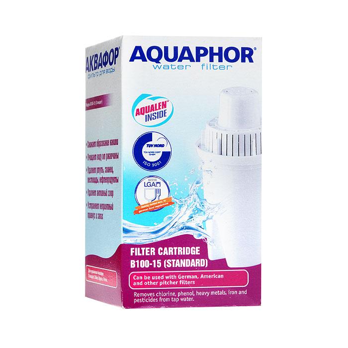 Сменный картридж Аквафор В100-15 (стандарт) аквафор идеал