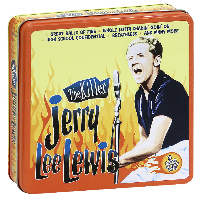 Джерри Ли Льюис Jerry Lee Lewis. The Killer (3 CD)