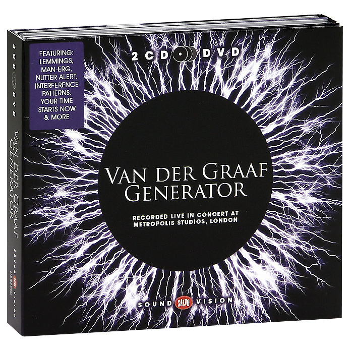 Van Der Graaf Generator Van Der Graaf Generator. Live In Concert At Metropolis Studios, London (2 CD + DVD) van der graaf generator van der graaf generator after the flood at the bbc 1968 1977 2 cd