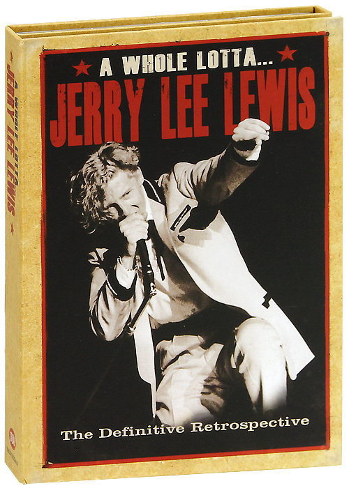Джерри Ли Льюис Jerry Lee Lewis. A Whole Lotta Jerry Lee Lewis (4 CD)