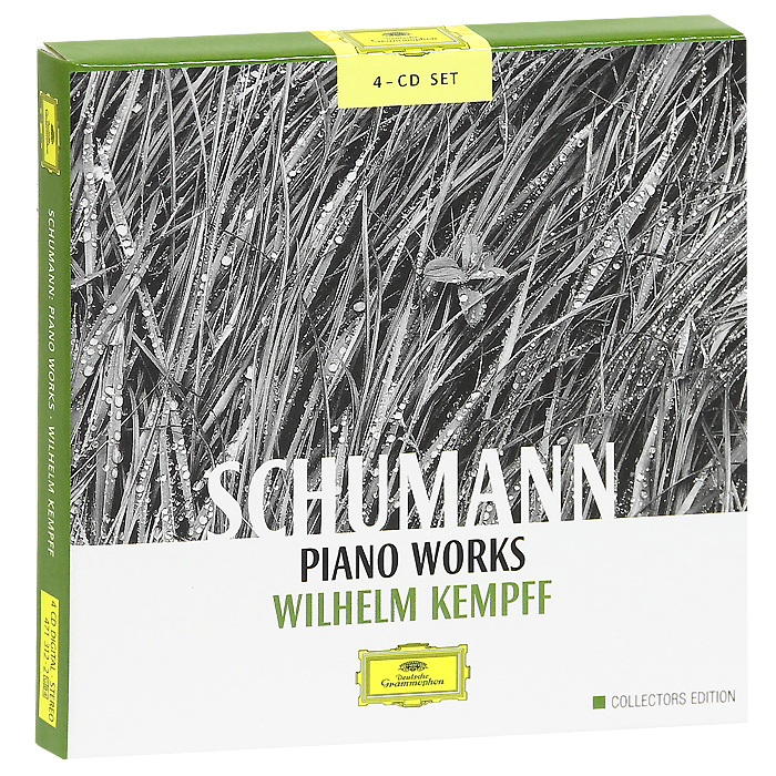 Wilhelm Kempff. Schumann: Piano Works (4 CD)