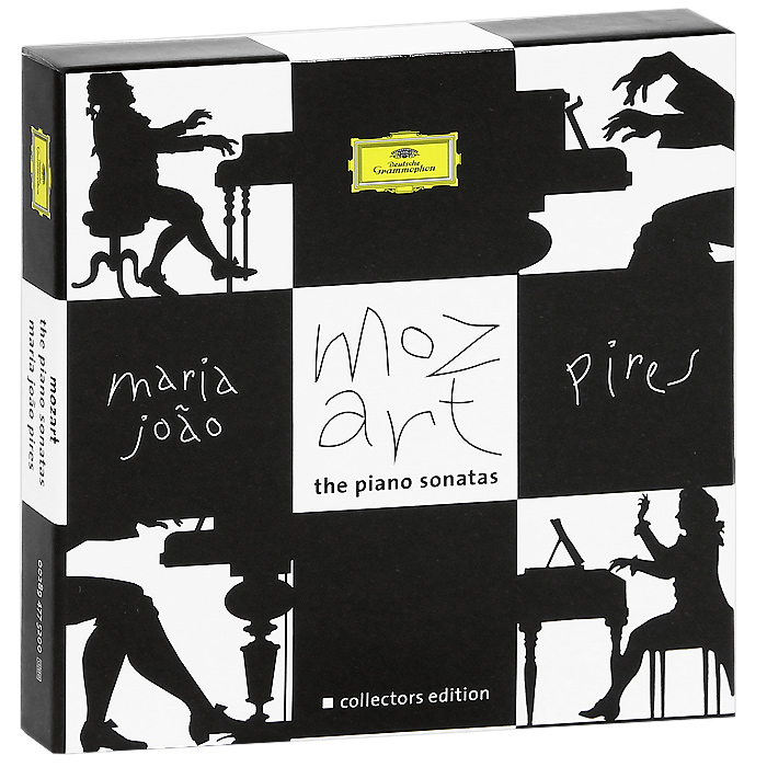 Мария Пирес Maria Joao Pires. Mozart. The Piano Sonatas. Collector's Edition (6 CD) смартфон samsung sm g532 galaxy j2 prime 8 гб серебристый sm g532fzsdser