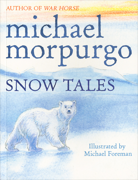 Snow Tales otto the book bear in the snow