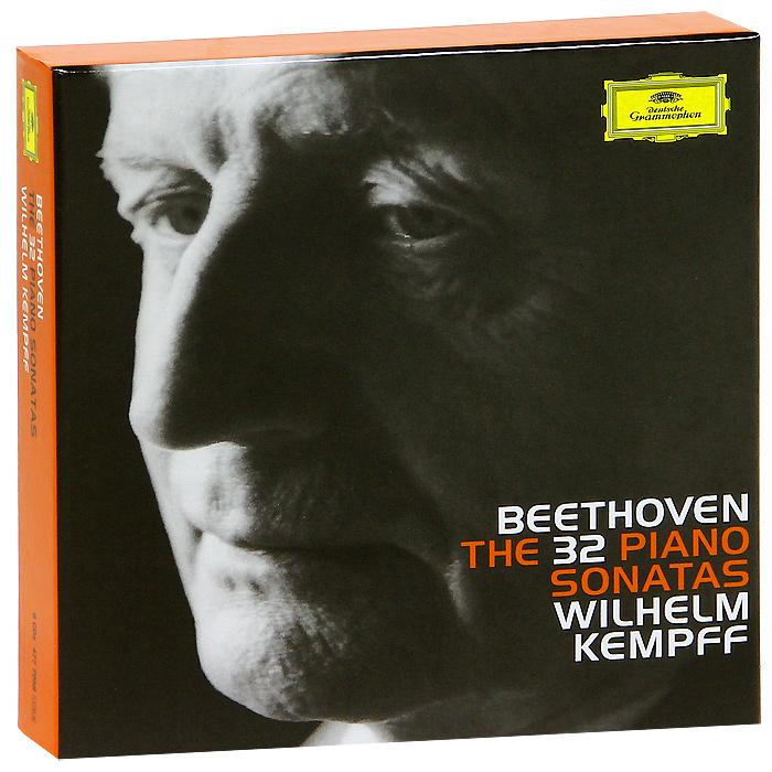 Вильгельм Кемпф Wilhelm Kempff. Beethoven. The 32 Piano Sonatas (8 CD) piano sonatas cd
