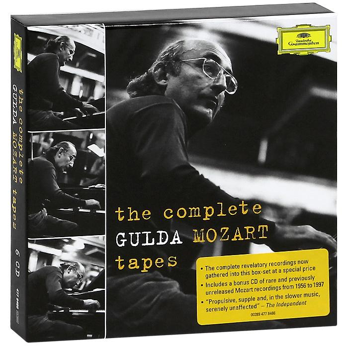 Фридрих Гулда Friedrich Gulda. Mozart. Piano Sonatas (6 CD) андреас стайер вольфганг моцарт andreas staier mozart piano sonatas 2 cd