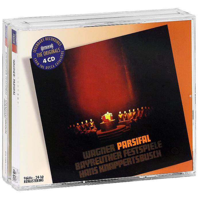 Hans Knappertsbusch , Bayreuther Restspiele. Wagner. Parsifal (4 CD)