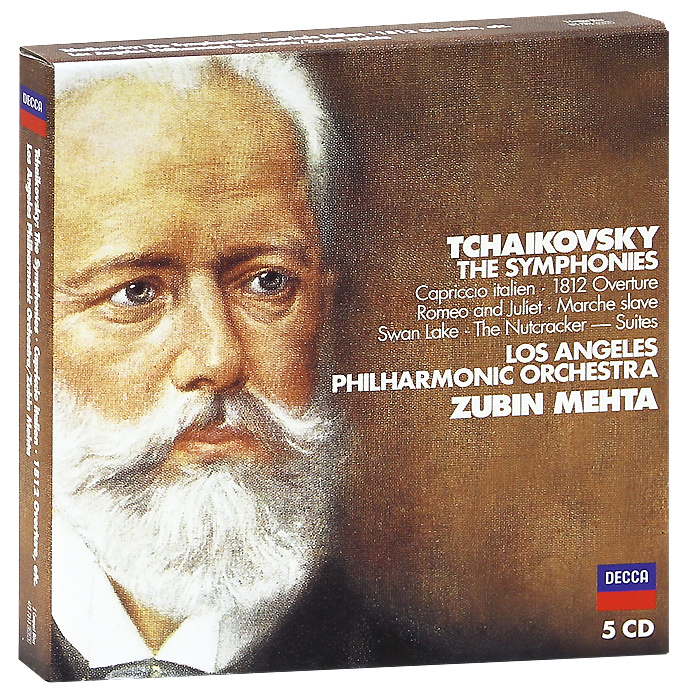 Зубин Мета,Los Angeles Philharmonic Orchestra Zubin Mehta, Los Angeles Philharmonic Orchestra. Tchaikovsky. The Symphonies (5 CD) удочка near los angeles 2 1 6 3