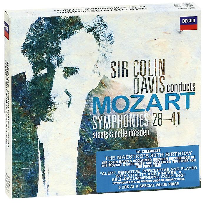 Колин Дэвис,Staatskapelle Dresden Orchestra Sir Colin Davis, Staatskapelle Dresden. Mozart. Symphonies 28-41 (5 CD) colin p sisson sisemine ärkamine