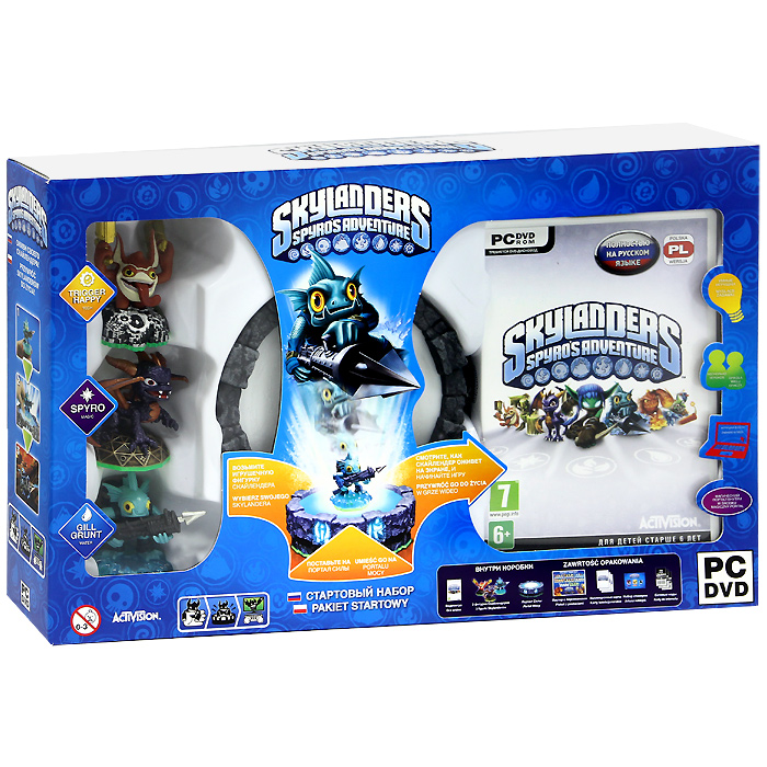 Skylanders Spyro's Adventure. Стартовый набор (русская версия) skylanders spyro s adventure стартовый набор