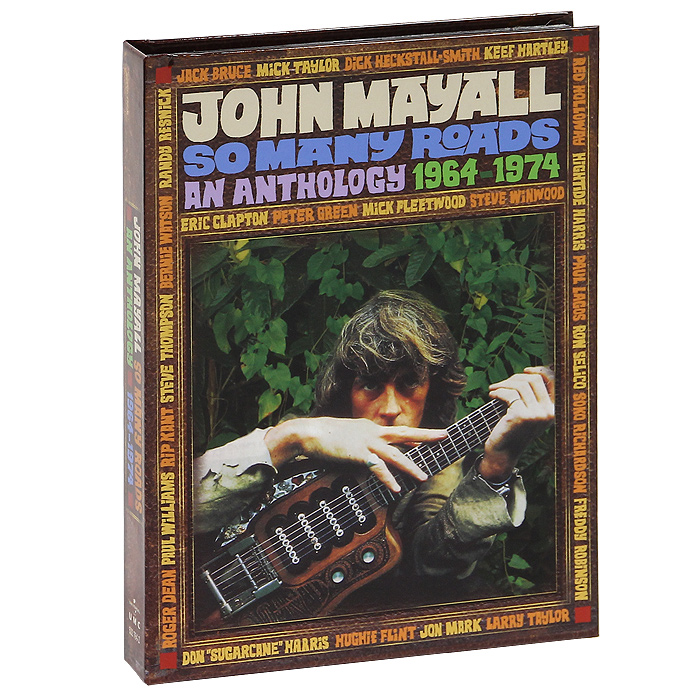 Джон Мэйолл John Mayall. So Many Roads. An Anthology. 1964-1974 (4 CD) все цены