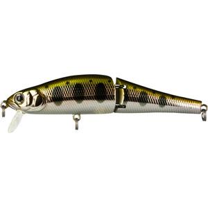 Воблер Tsuribito Joint Minnow, длина 11 см, вес 16,4 г. 110F/053110F/053Воблер Tsuribito Joint Minnow 110F первый двухсоставник бренда Tsuribito для ловли щуки. Заглубление до метра дает возможность рыболову облавливать этим воблером мелководные заливы рек и водохранилищ, а плавная игра с широкой амплитудой составной приманки не оставит без внимания даже малоактивного хищника. Характеристики:Материал: металл, пластик. Длина: 11 см. Вес: 16,4 г. Цвет тела:053. Рабочая глубина: 0,5 - 1 м. Плавучесть - плавающий. Размер упаковки: 16,3 см х 4 см х 2,8 см. Производитель: Япония. Артикул: 110F/053.Какая приманка для спиннинга лучше. Статья OZON Гид