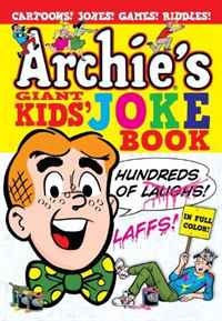 Archie's Giant Kids' Joke Book 2012 full color 180 pages printing catalog of chef essentials