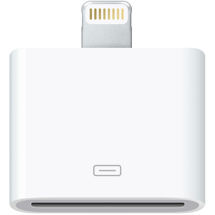 Apple Lightning to 30-pin Adapter (MD823ZM/A) аксессуар iqfuture lightning to micro usb adapter iq dc02 89578