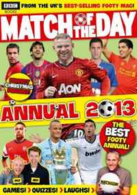 Match of the Day Annual 2013 (Annuals 2013) match of the day quiz book