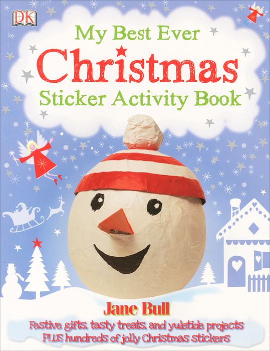 My Best Ever Christmas: Sticker Activity Book my counting sticker activity book