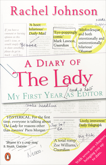 Diary of the Lady: My First Year as Editor