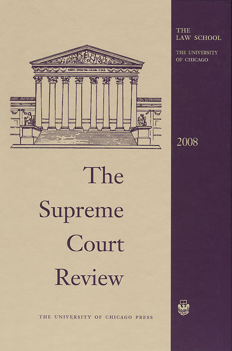 The Supreme Court Review 2008 paying the words extra – religious discourse in the supreme court of the united states paper