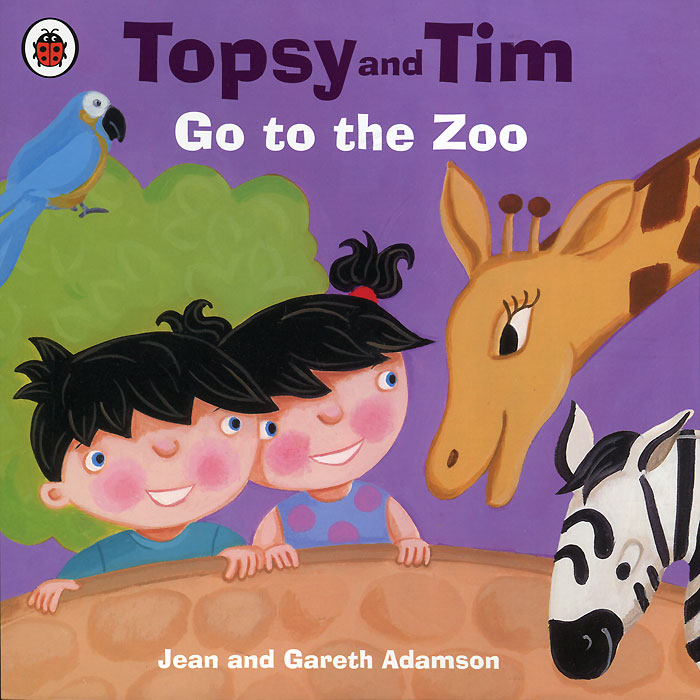Topsy and Tim: Go to the Zoo jean adamson topsy and tim start school