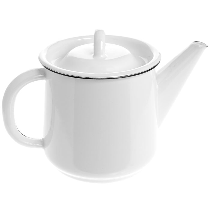 Чайник эмалированный, 1 л. 2С2022С202Чайник, выполненный из высококачественной стали и покрытый эмалью, предназначен для кипячения воды. Чайник имеет классическую форму, оснащен удобной ручкой, крышкой и носиком. Такой чайник не требует особого ухода и его легко мыть.Благодаря классическому дизайну и удобству в использовании чайник займет достойное место на вашей кухне. Характеристики: Материал:эмалированная сталь. Диаметр чайника по верхнему краю:11 см. Высота чайника (без учета крышки):12 см. Объем:1 л. Производитель: Россия. Артикул:2С202.