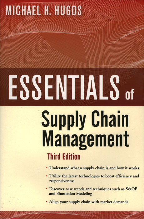Essentials of Supply Chain Management robert davis a demand driven inventory optimization and replenishment creating a more efficient supply chain