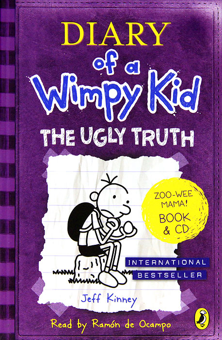 Diary of a Wimpy Kid: The Ugly Truth (+ 2 CD-ROM) professional electronic drill right angle bend universal chuck 90 degree angle drill angle drill extension accessories fitting
