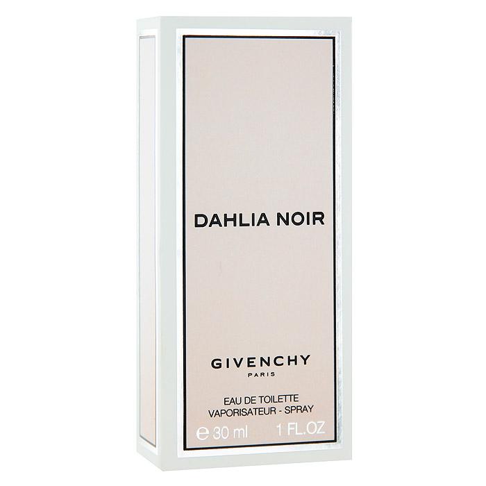Givenchy DAHLIA NOIR Туалетная вода, женская, 30 млP046330Givenchy Dahlia Noir - черный георгин, роковой цветок, которого не существует в природе, но который кажется настолько реальным, воплотился в облике таинственного и колдовского Dahlia Noir, волнующего и обольстительного, как сама femme fatale, загадочный и иллюзорный, как и воображаемый цветок черного георгина. Необъяснимый и двойственный женский характер, в котором одновременно уживается невинность и соблазн, хрупкость и сила, так напоминает этот цветок из фантазий - мистический и прекрасный для всех, кто к нему прикоснулся.Классификация аромата: цветочный.Верхние ноты: мандарин, мадагаскарский розовый перец, мимоза.Ноты сердца:ирис, лист пачули, роза.Ноты шлейфа:сандал, ваниль, бобы тонка.Ключевые слова: Страстный, чувственный, чарующий, неповторимый! Характеристики:Объем: 30 мл. Производитель: Франция. Туалетная вода - один из самых популярных видов парфюмерной продукции. Туалетная вода содержит 4-10%парфюмерного экстракта. Главные достоинства данного типа продукции заключаются в доступной цене, разнообразии форматов (как правило, 30, 50, 75, 100 мл), удобстве использования (чаще всего - спрей). Идеальна для дневного использования. Товар сертифицирован.