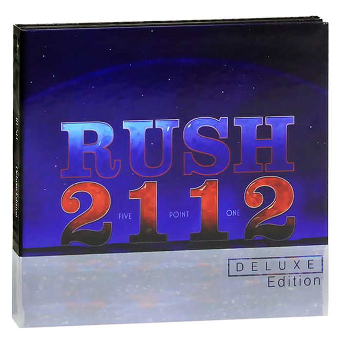 Rush Rush. 2112. Deluxe Edition (CD + DVD) europe europe war of kings deluxe edition cd dvd