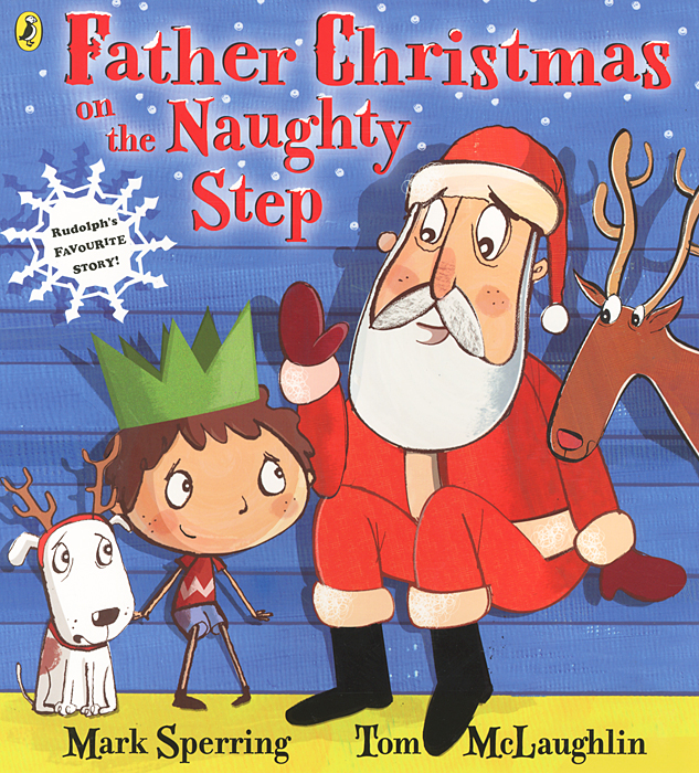 Father Christmas on the Naughty Step father christmas on the naughty step
