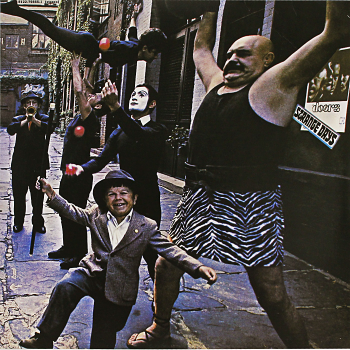 The Doors The Doors. Strange Days (LP)